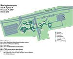 Warrington Campus Map