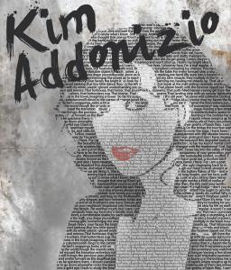 Kim Addonizio flyer