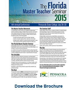 Florida Master Teacher 2015 Brochure