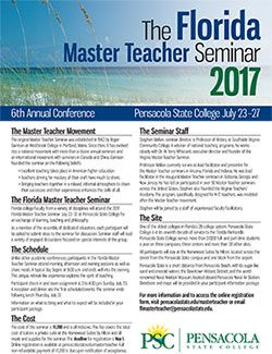 Florida Master Teacher 2017 Brochure