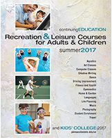 Continuing Education Summer 2017