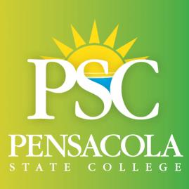 Pensacola State College green logo