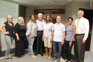 Sandy Sansing scholarship recipients