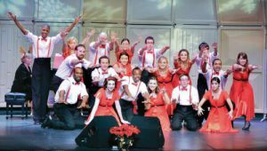 PSC Entertainers Jazz Choir performs lively holiday tunes Dec. 7.
