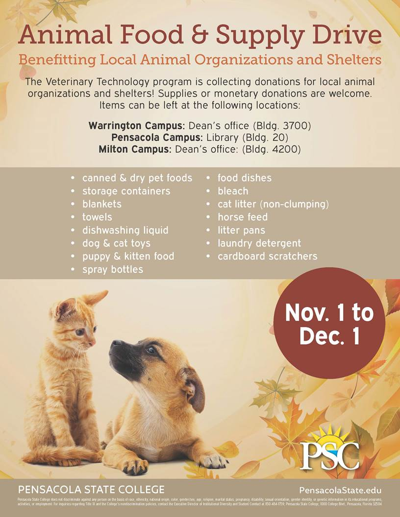 decorative image of animal-drive , Animal Food & Supply Drive 2018-10-04 13:52:02
