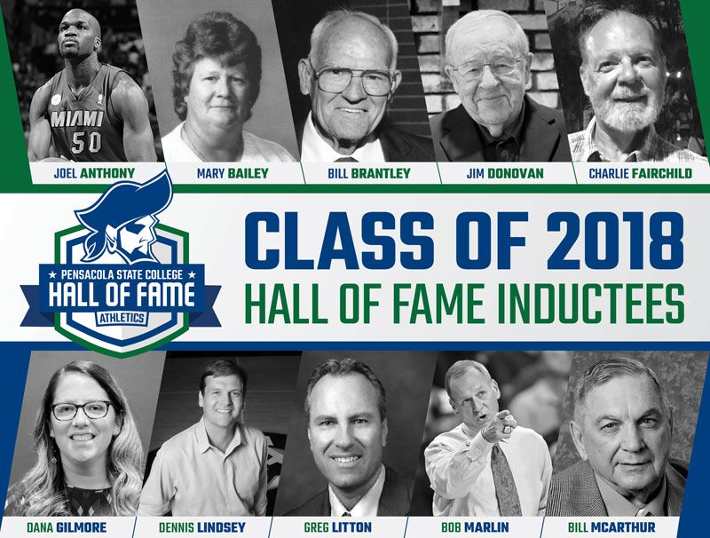 decorative image of HallofFamePoster , Inaugural class of distinguished honorees to be named to PSC Athletics Hall of Fame 2018-12-18 07:54:13