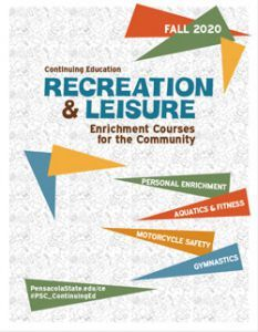 decorative image of fall-2020-ce-catalog , Continuing Education - Rec and Leisure Course Offerings 2020-09-04 08:18:38
