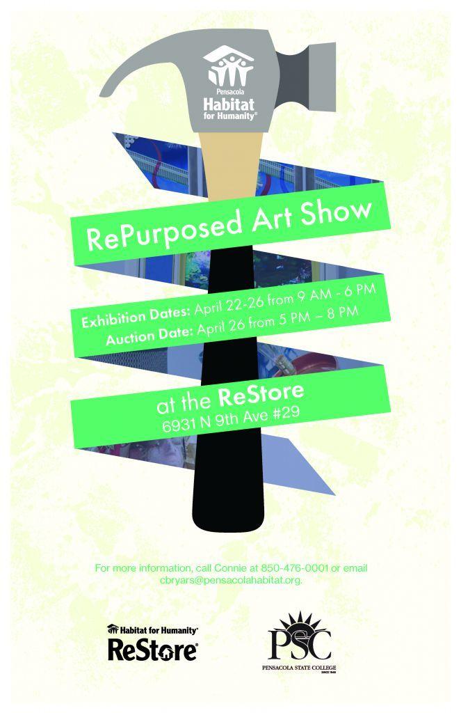 decorative image of repurposedartshow_poster , Auto Draft 2019-04-15 14:25:17