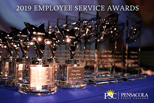decorative image of ServiceAwards , 78 PSC employees honored at 2019 Service Awards Ceremony 2019-05-09 09:44:36