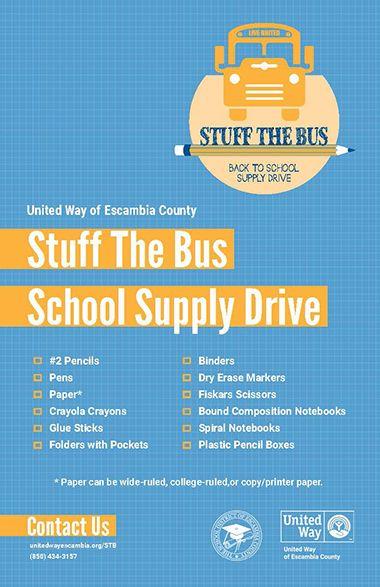 decorative image of Stuff-the-Bus_Supply-List-2019 , Auto Draft 2019-07-16 07:49:17
