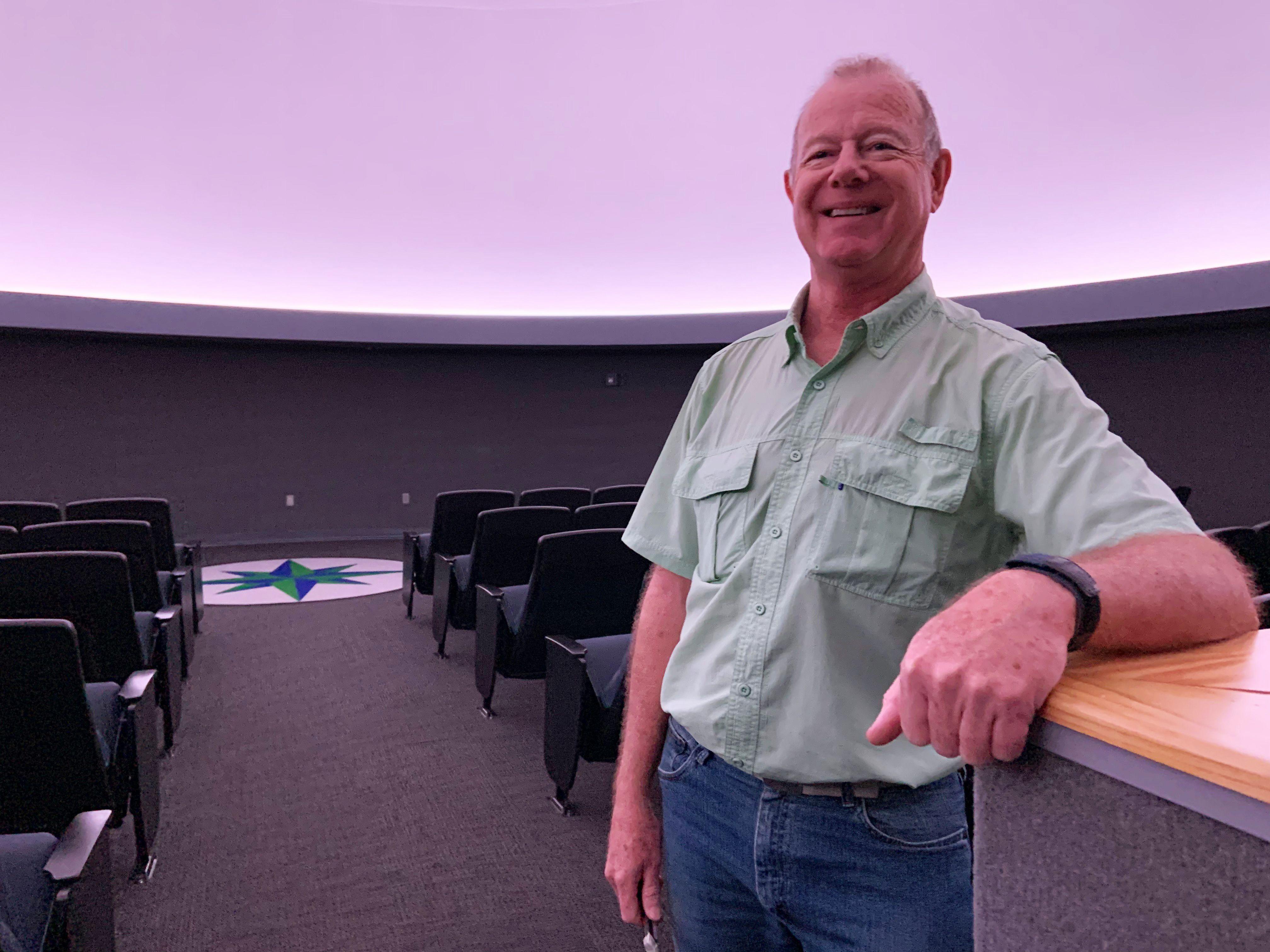 decorative image of billyjackson , Pensacola State's Planetarium still educating and inspiring thousands after renovation 2020-03-26 12:10:04