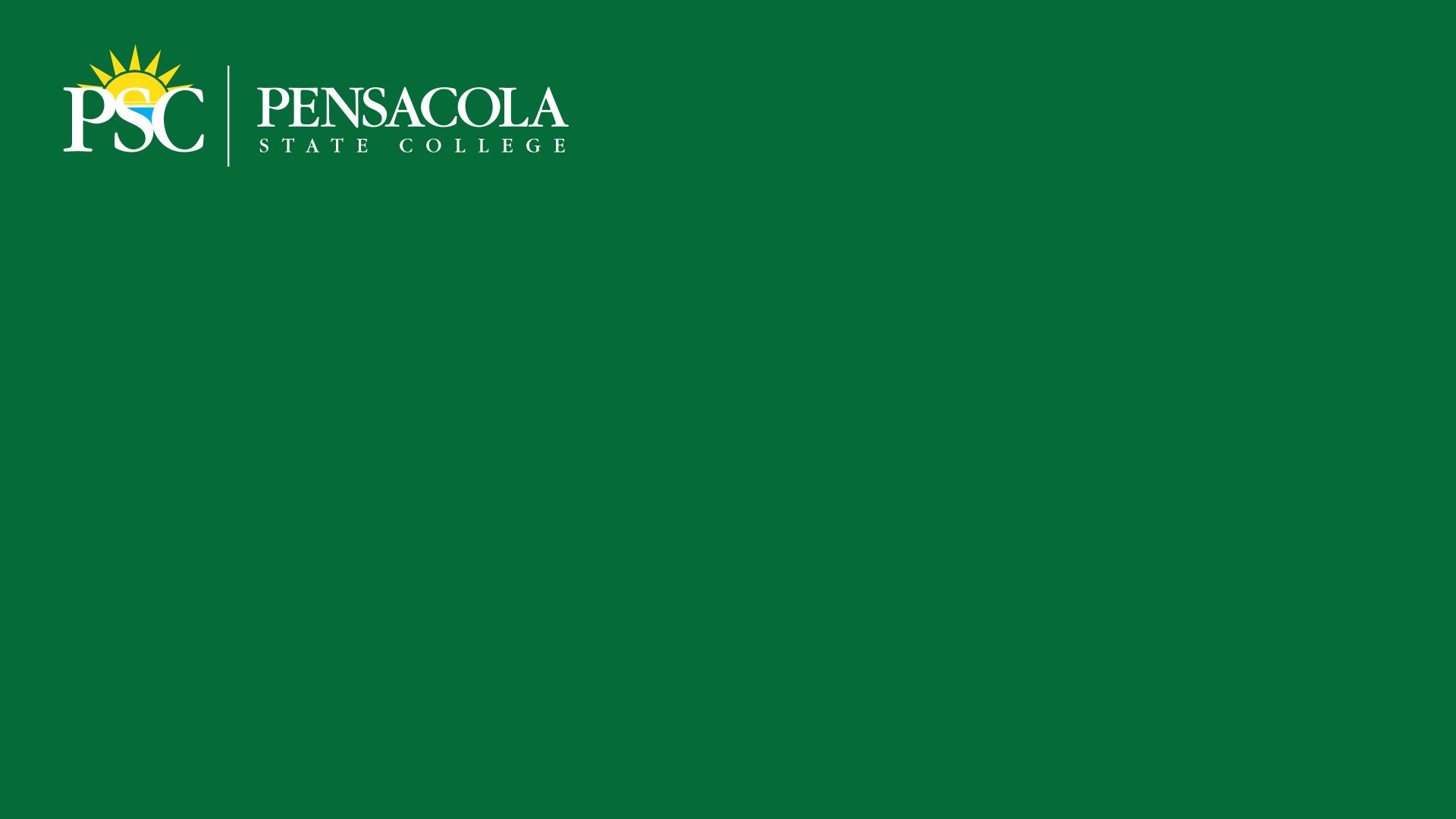 Virtual Background PSC Green