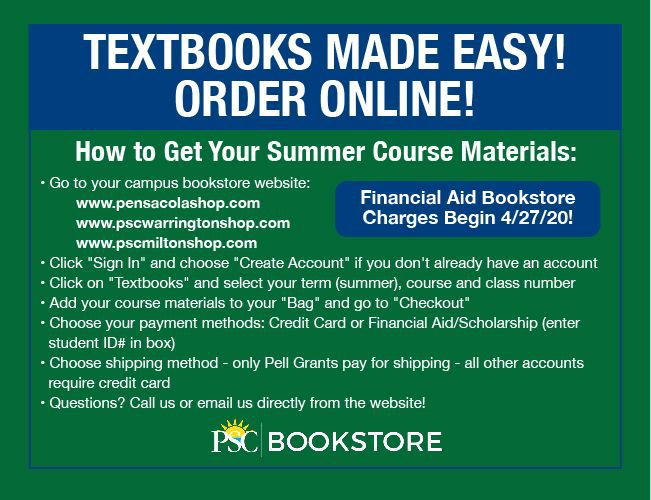 decorative image of f8ce1bc927a739ea32e44614a1f89e4e-bookstoresales_rev , Order Summer Course Materials Online! 2020-05-01 10:39:08