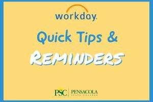 decorative image of Quick-Tips-Cover , Workday Quick Tips & Reminders 2020-06-30 08:25:28