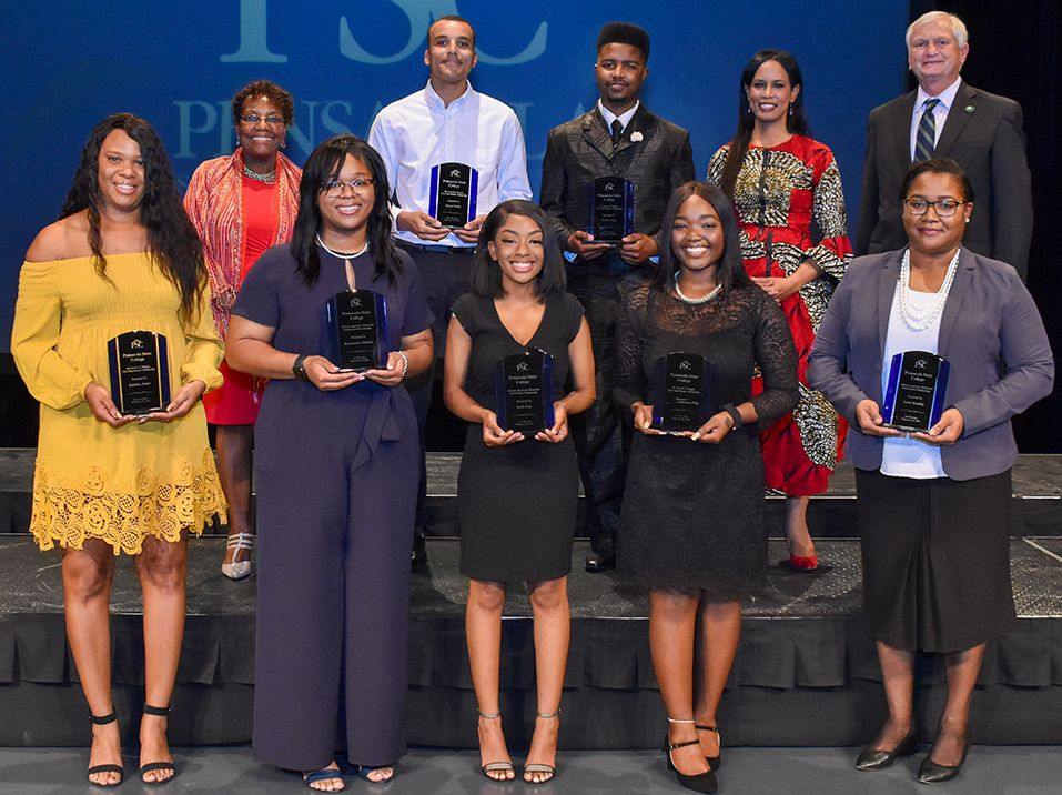 decorative image of recipients_nomasks , 11 PSC students awarded African-American Memorial Endowment, Wiggins scholarships 2021-03-04 09:28:19