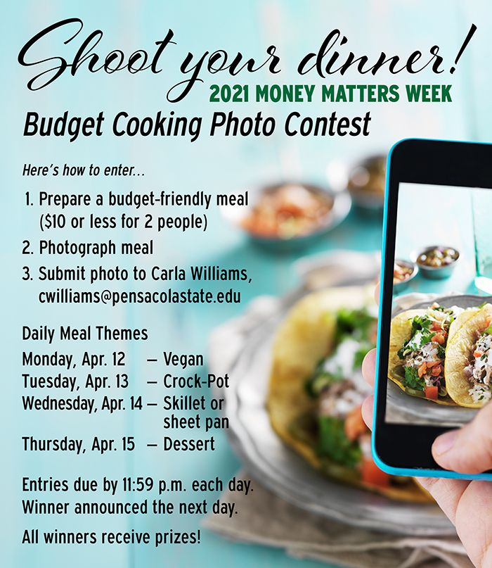 decorative image of CookingPhotoContest , Whatcha got cooking? Take a picture and you could win a prize 2021-04-07 11:54:13