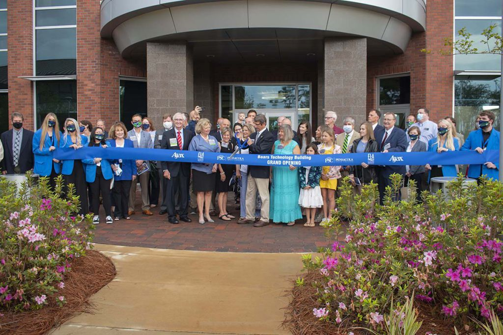 decorative image of Ribbon-Cutting-Baars , PSC unveils state-of-the-art Baars Technology Building 2021-04-09 13:53:46