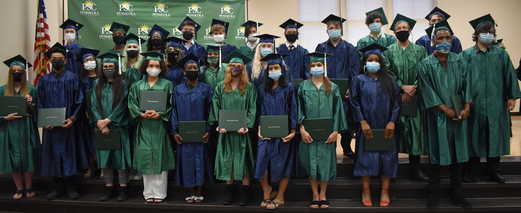 decorative image of 2021AdultGEDGrads , Pensacola State Adult Education graduates believe GED will help them realize dreams 2021-05-19 11:34:02
