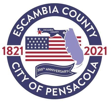 decorative image of Escambia200th , PSC History Professor Brian Rucker key figure in Escambia County 200th anniversary celebration 2021-05-12 08:14:22