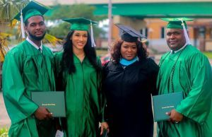 decorative image of Hurds , PSC grads, family celebrate at May 9 commencement 2021-05-13 10:51:45