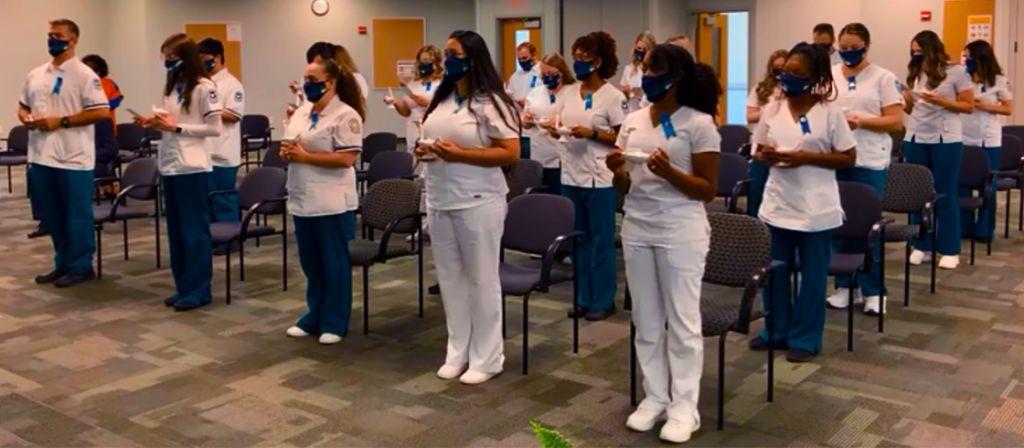 decorative image of nursespinning2021 , PSC's newest nursing grads faced unprecedented challenges 2021-05-12 14:55:53