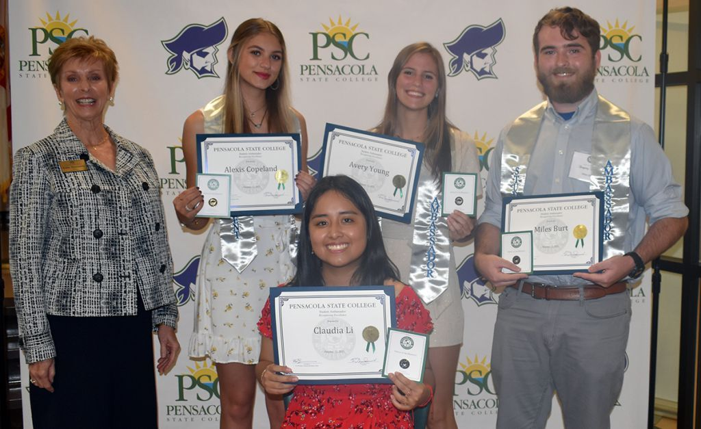 decorative image of Student-Ambassadors , PSC's best and brightest honored at 'Recognizing Excellence' reception 2021-10-13 13:28:17