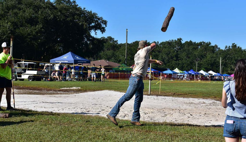 decorative image of poletosser , PSC Lumberjack Festival brings out variety of sports and outdoor enthusiasts 2021-10-12 16:14:06